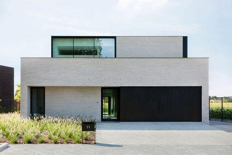 maison moderne toiture plate