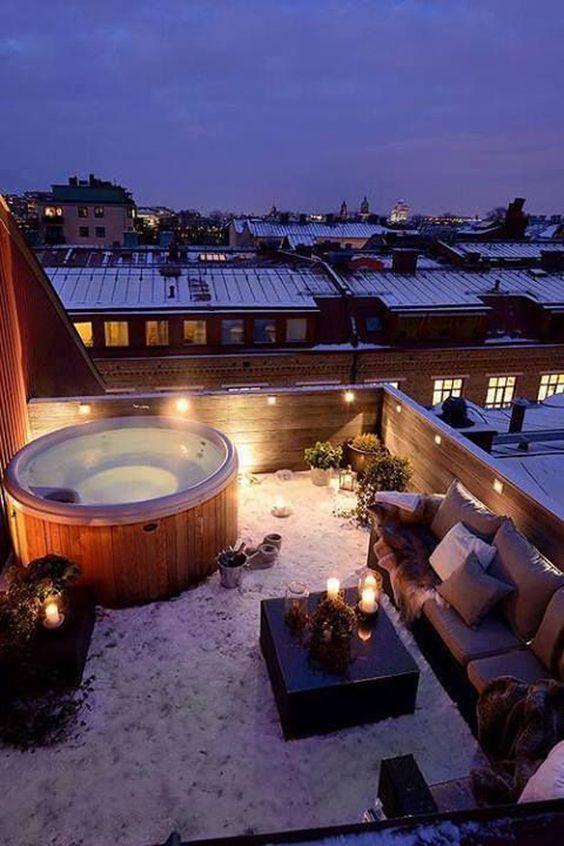 jacuzzi sur toit