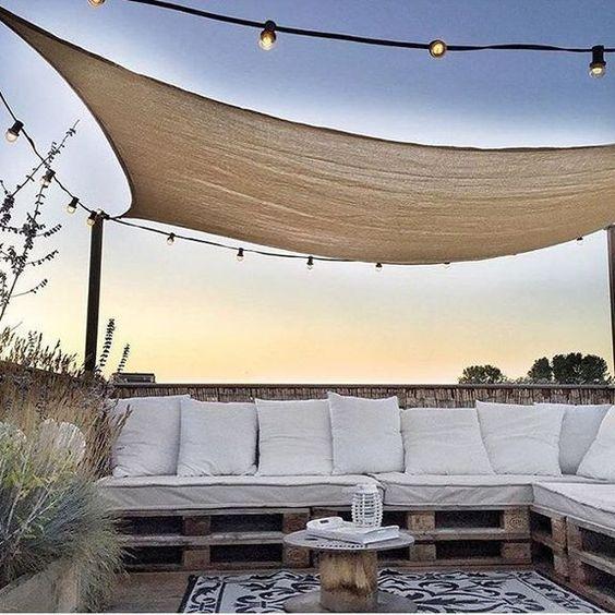 toiture terrasse cozy et toile