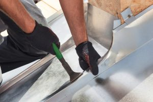 travaux couverture toiture en zinc